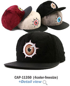 CAP-11350Monster Eye 스냅백
